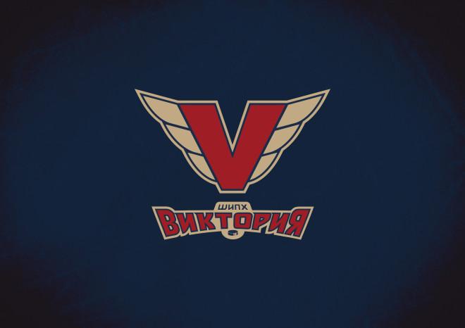 Разработка спортивного логотипа. Школа индивидуальной подготовки хоккеиста Виктория